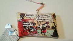 ミッキー&フレンズ コミックアートクリーナーストラップ ミッキー&ミニー 非売品 新品 ディズニー