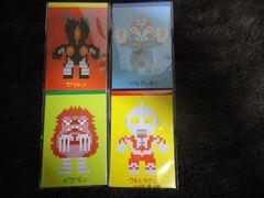 ウルトラマン オリジナル ドット絵 メモ帳 全4種