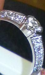 新品人気デザインPt900ダイヤ&ピンクダイヤ0.568ct
