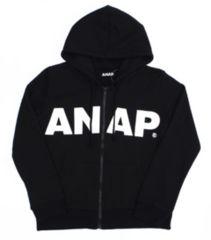 新品ANAP☆ロゴ ジップパーカー 黒 アナップ