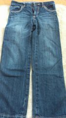 150�p・シンプルなデニムのズボン