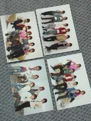 NEWS CONCERT TOUR  pacific 2007-2008★メンバー集合*4枚set