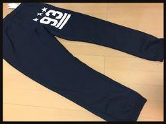 3L・ロゴスウェットパンツ・裏起毛新品紺/MCAa‐611