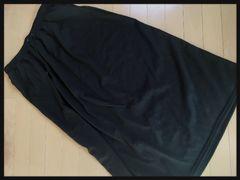 4L・無地ロングスカート新品/MC-610