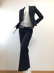 ∈★SALE★∋◆ANAYI・アナイ・・パンツスーツ・・黒*美品・・36