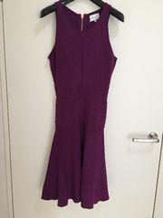 MILLY ドレス パープル pサイズ
