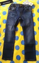 新品【DaddyOhDaddy丸高衣料】120cmストレッチデニムパンツジーンズ¥5292