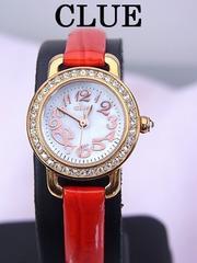 即買い CLUE ラインストーン 女性用 クォーツ 時計 新品同様★dot
