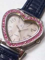腕時計 ハート 中古品 可動品 非防水