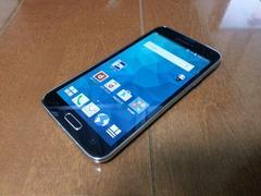 即落/即発!!美中古品 SC-04F Galaxy S5 ブラック
