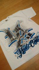 LA直輸入 WESTーCOAST Tシャツ白ホワイト サイズ4XL XXXXL→5XL位 G�B