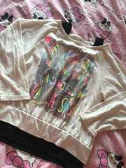 英字プリントTシャツ140