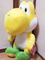 スーパーマリオ特大サイズぬいぐるみヨッシー☆45�pきいろヨッシー