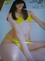船岡咲雑誌付録の両面特大ポスター