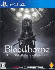 PS4#��ׯ���ް� Bloodborne The Old Hunters Edition �V�i