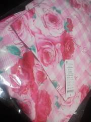 新品メゾピアノ浴衣ばら薔薇バラ柄素敵115〜125