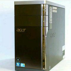 ゲームPC Acer M5810 i7-860 8GB 1TB Win7 Office&AdobeCS6
