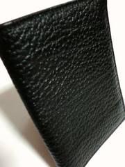 新品ラルフローレン/Polo by RA革製カード収納名刺入れ黒
