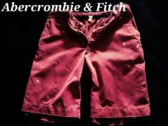 �yAbercrombie&Fitch�zVintage Paint ��۲�ɼ��� 32/Burgandy