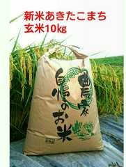 茨城28年産新米あきたこまち玄米10�s