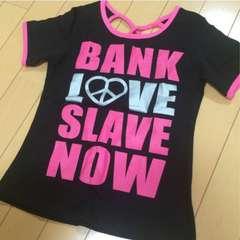 新品◆韓国ブランド◆背中ハートピース開き半袖Tシャツ◆130