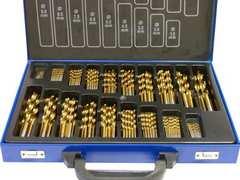 19種170pcsドリルビットセット穴あけ作業HSS鉄/DRILLBIT170PC