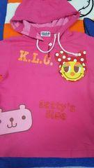 KLC☆ピンク☆パーカーT☆くまのエイミーちゃんコラボ☆