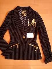d.i.aドット水玉スターピンストライプジャケットスーツ