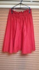 イング♪赤の可愛いスカート