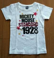 ハッシュアッシュ☆新品同様☆ミッキーのTシャツ☆size100