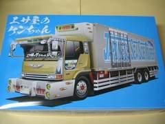 アオシマ 1/32 バリューデコトラ No.24 エサ屋のケンちゃん(大型冷凍車) 新品