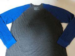 USA購入【Hurley】Premium Fit 両腕サーマル素材 ロングT US XXL