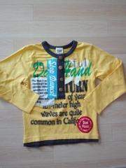 新品 カーキTシャツ110