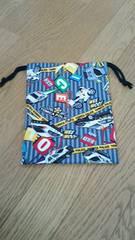 トミカ両絞り巾着22、5×17ゆうメール82円
