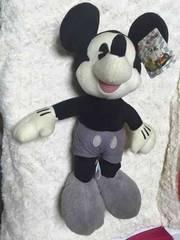 セガ ぬいぐるみ ミッキーマウス モノクロ