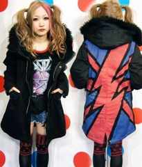 ��Candy Stripper U.K. THUNDER MODS COAT��