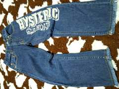 HYSTERIC GLAMOUR��100size���f�j���p���c�^�C���f�B�S