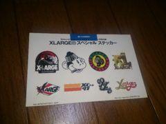 X-Large ステッカー