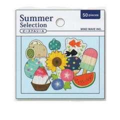 ★フレークシール★Summer☆いつかの夏の日★50ピース