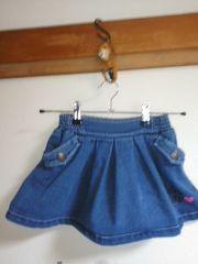 ジェニィ Jenni スカート 美品 120cm デニム