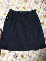 大きいサイズ 3L デニムスカート