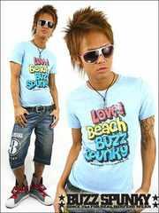 BUZZSPUNKY(バズスパンキー)LOVE BEACH Tシャツ/L