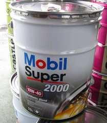 �� Mobil Super2000. 10W-40.API-SN/CF.A3/B4�̕���������B20L