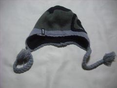mb461 男 RIP CURL リップカール 耳当て付き ニット帽 ビーニー
