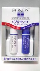新品ポンズ★ダブルホワイトアイスティックセット送込