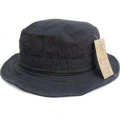 新品♪無地 ワイヤーバケット ハット*ブラック*帽子*
