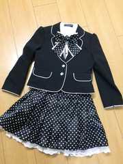 kids MICHIKO LONDONセットアップ130#フォーマル#入学式などに