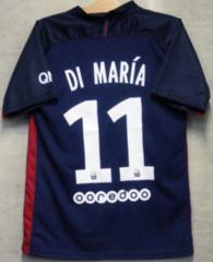 新品☆ディ・マリア☆パリSG☆紺M11番半袖Nアルゼンチン代表PSG