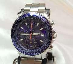 ●本物確実正規セイコー腕時計クロノグラフ 7T92-0CF0 メンズ