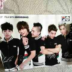 BIGBANG Fila�T�C���|�X�^�[�����A �ʐ^ �W�����x�^�v�e�\�X��